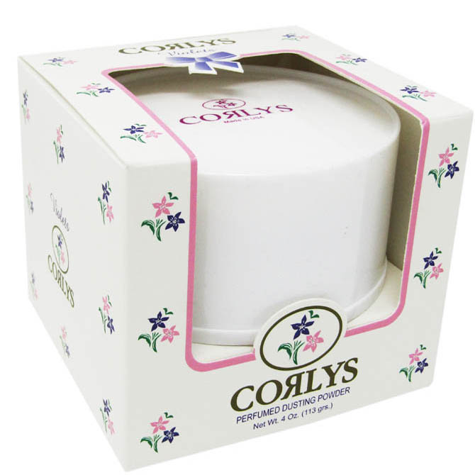CORLYS DUSTING POWDER FOR BABIES WITH PUFF 4oz