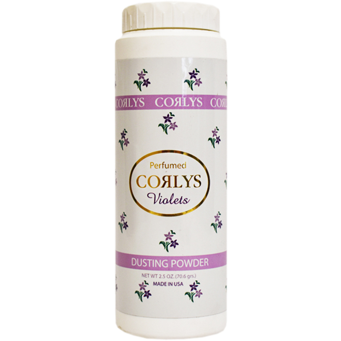 CORLYS DUSTING POWDER VIOLETS 2.5oz